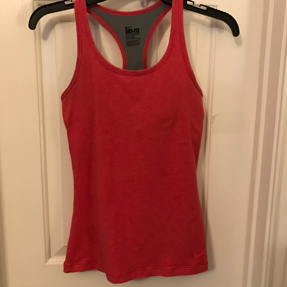 Nike Dri-Fit Red Active Athletic Tank Top Small